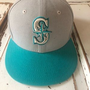 Seattle Mariners New Era MLB New no tag Fitted Hat